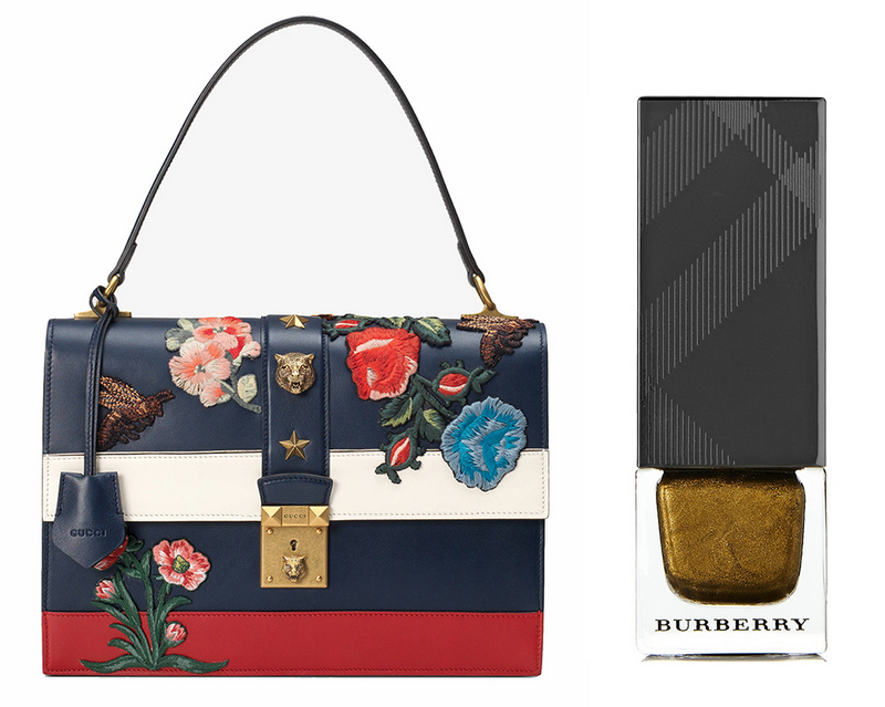 bolsa-e-esmalte-le-chodraui-ribeirão-preto-blog-de-moda-e-beleza-Gucci-Cat-Lock-Bag-and-Burberry-Nail-Polish-in-Antique-Gold
