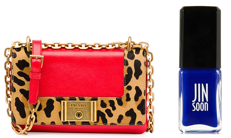 bolsa-e-esmalte-le-chodraui-ribeirão-preto-blog-de-moda-e-beleza-Prada-Calf-Hair-and-Calfskin-Shoulder-Bag-Jin-Soon-Nail-Polish-in-Blue-Iris