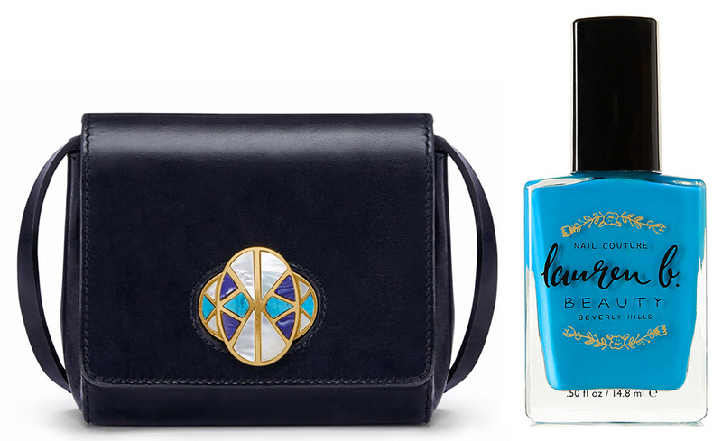 bolsa-e-esmalte-le-chodraui-ribeirão-preto-blog-de-moda-e-beleza-Tory-Burch-Turnlock-Crossbody-Bag-and-Lauren-B-Beauty-Nail-Polish-in-Cataline-Cruise