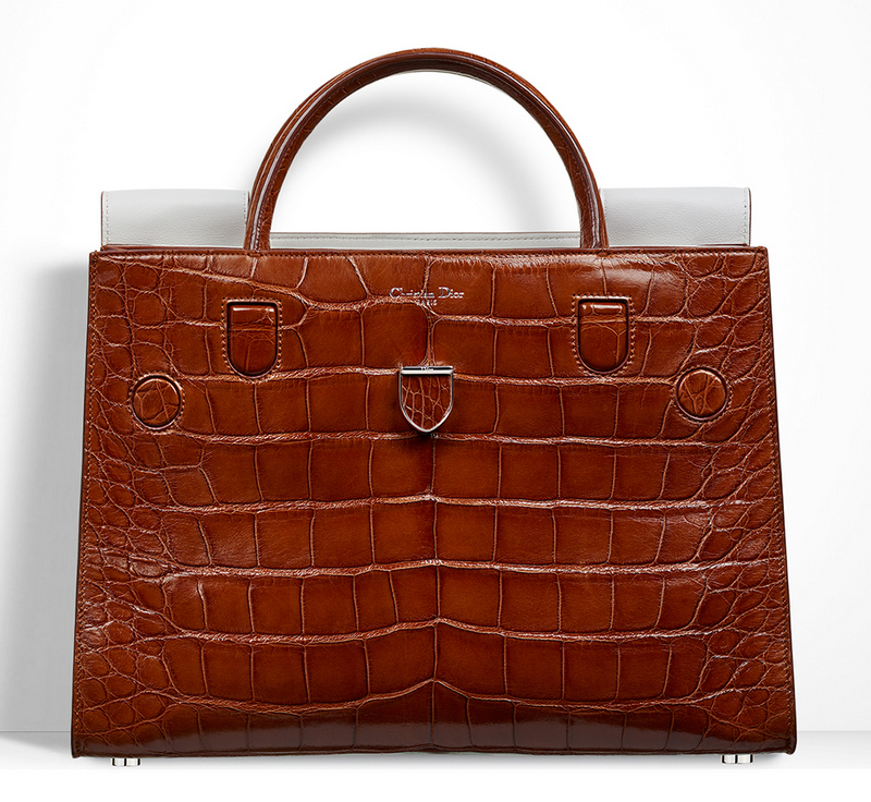 Christian-Dior-Diorever-Alligator-Tote