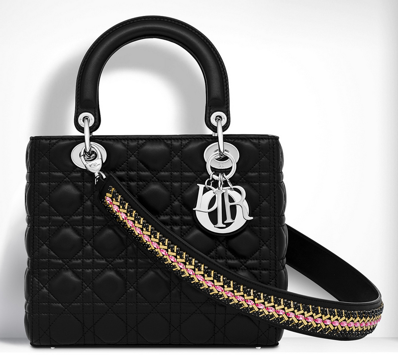Christian-Dior-Lady-Dior-Bag-Black