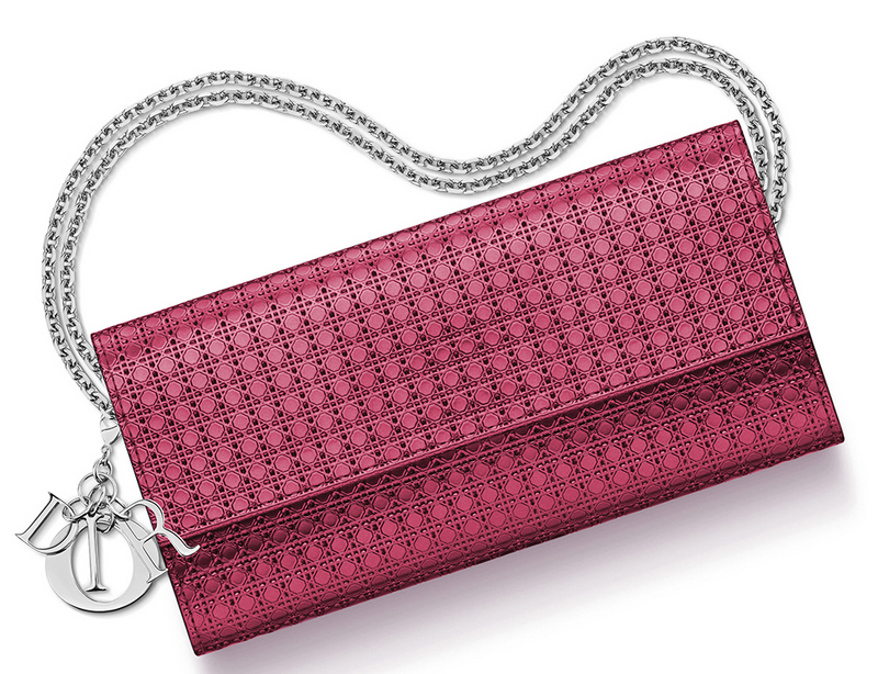 Christian-Dior-Lady-Dior-Croisiere-Wallet-Pink