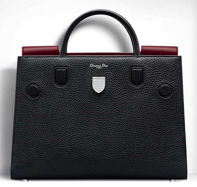 Christian-Dior-Large-Diorever-Bag-Black-Contrast
