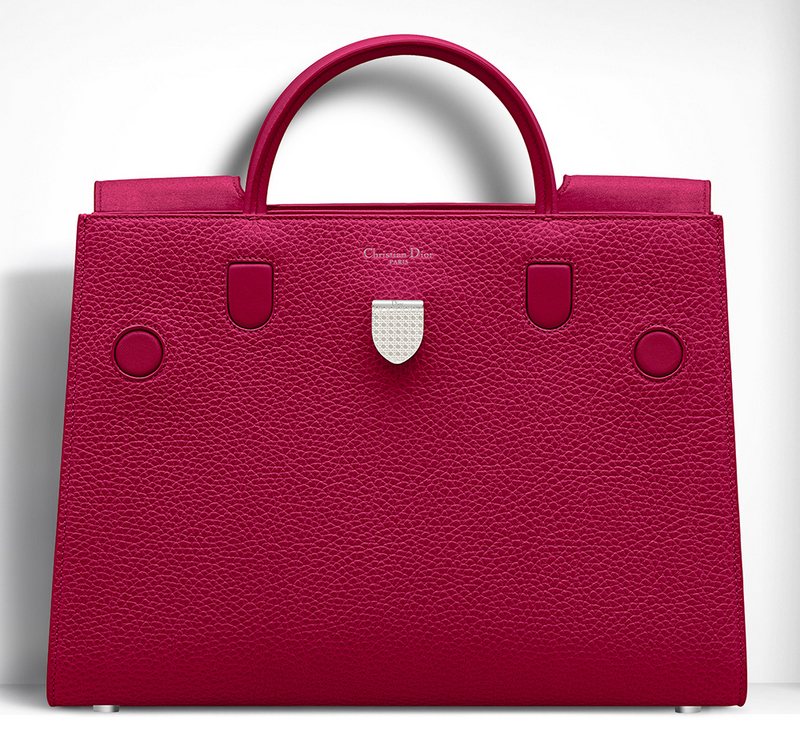 Christian-Dior-Large-Diorever-Bag-Cherry