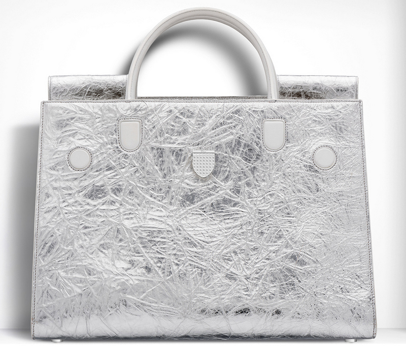 Christian-Dior-Large-Diorever-Silver-Metallic