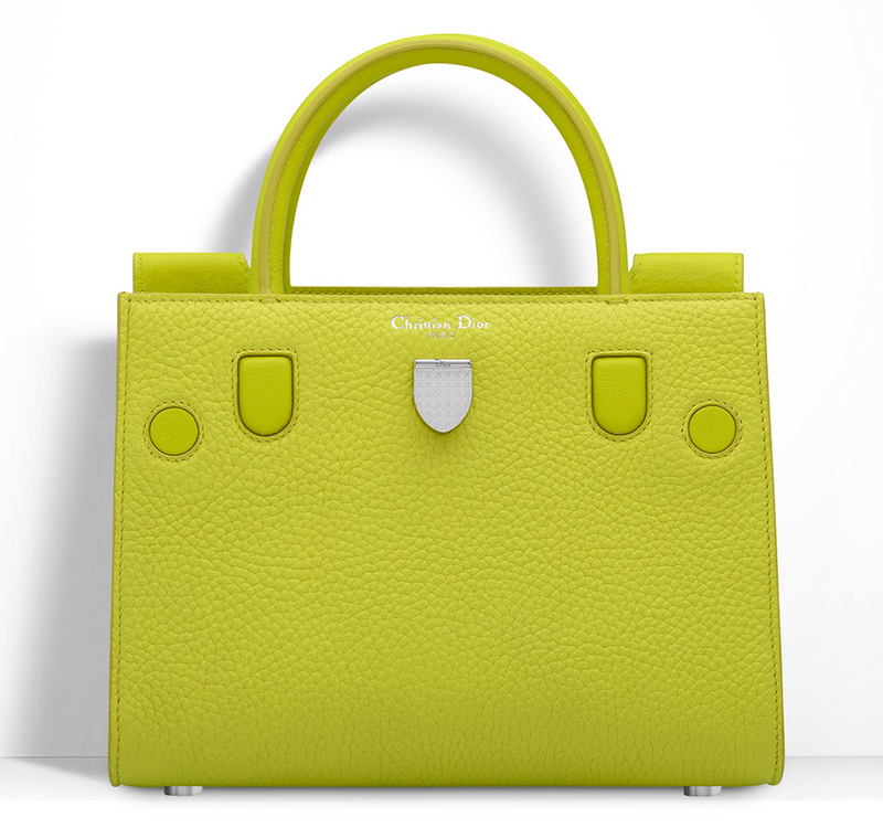 Christian-Dior-Mini-Diorever-Tote-Yellow