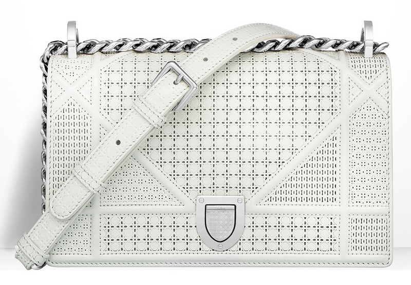 Christian-Dior-Small-Diorama-Bag-White