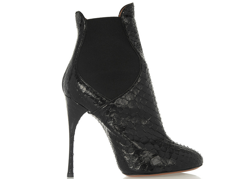 Alaia-Python-Ankle-Boots