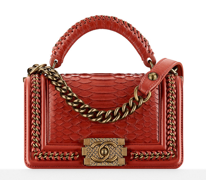 Chanel-Python-Boy-Bag-With-Handle-7200