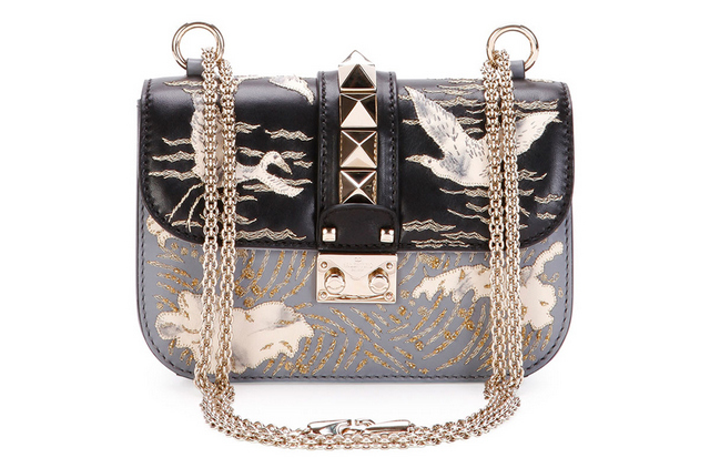Valentino-Lock-Small-Embroidered-Leather-Shoulder-Bag
