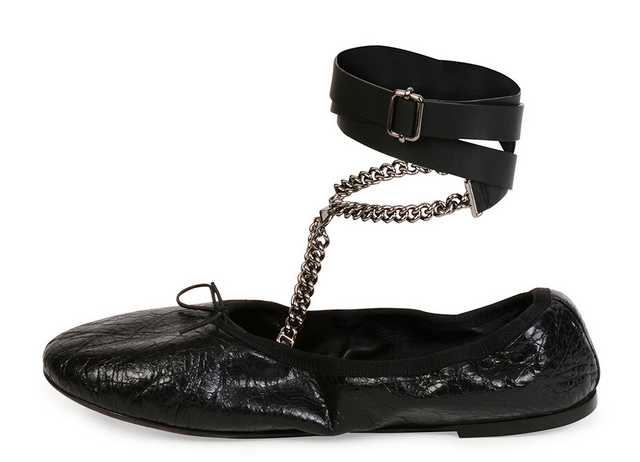 Valentino-Rockstud-Ballet-Chain-Ankle-Wrap-Leather-Flat